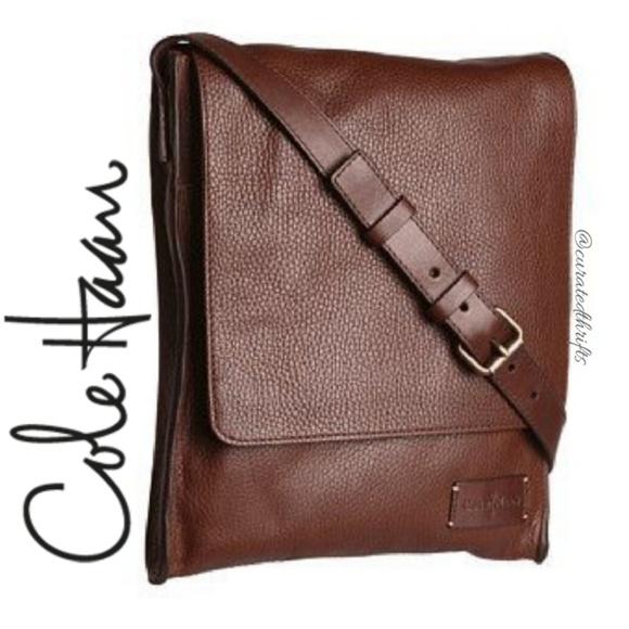 c362ec74509b3 Cole Haan Other - Cole Haan Unisex Newspaper Bag!